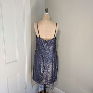 Kay Unger Dresses - NWT Kay Unger Illusion Sheer Sleeve Shift Dress